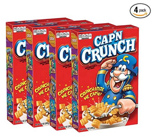 Cap'n Crunch Breakfast Cereal, Original