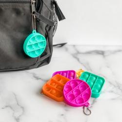 Mini Bubble Pop Keychain