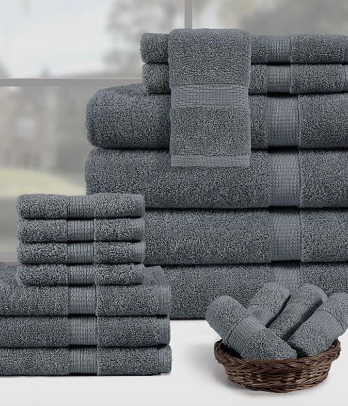 18-Piece Towel Sets