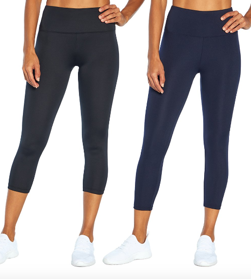 2-Pack Capris by Bally Total Fitness