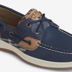 Sperry Women's Bluefish Plaid Boat Shoes