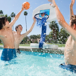 Pool Basketball & Volleyball Set