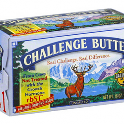 Challenge Sweet Cream Butter, 4 pk
