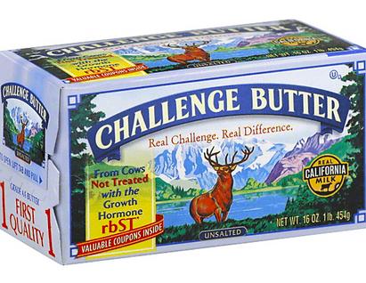 Challenge Sweet Cream Butter, 4 pk
