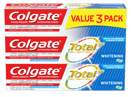 Colgate Toothpaste 3-Pack Just 96¢ After Cash Back at Walmart