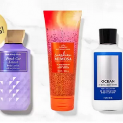 Bath & Body Works Lotions