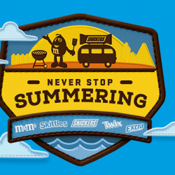 Mars Wrigley ''Never Stop Summering'' Instant Win Game (2,876 Winners)