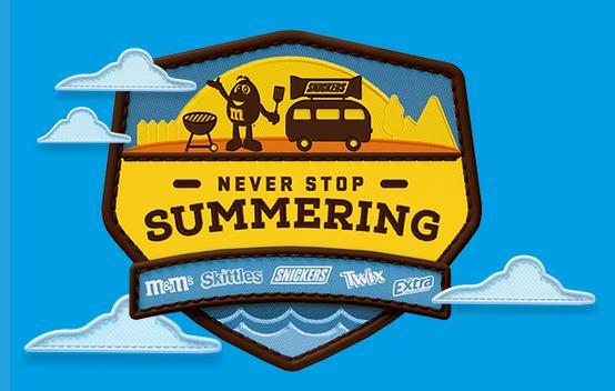 Mars Wrigley ''Never Stop Summering'' Instant Win Game (2,876 Winners)