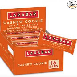 Larabar Fruit and Nut Bar, Cashew Cookie