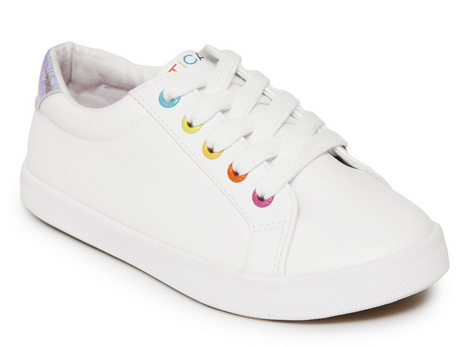 Little Girls Casual Lace Up Sneaker