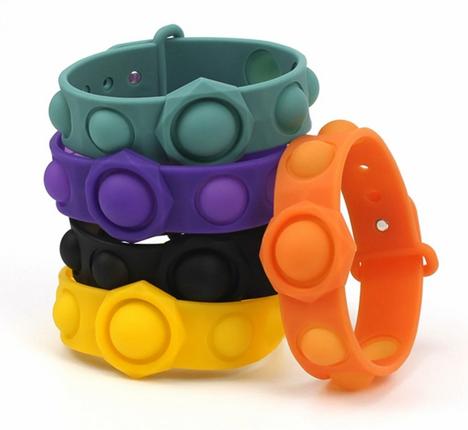 Stress Relief Wristband Fidget Toys Wearable Bracelet