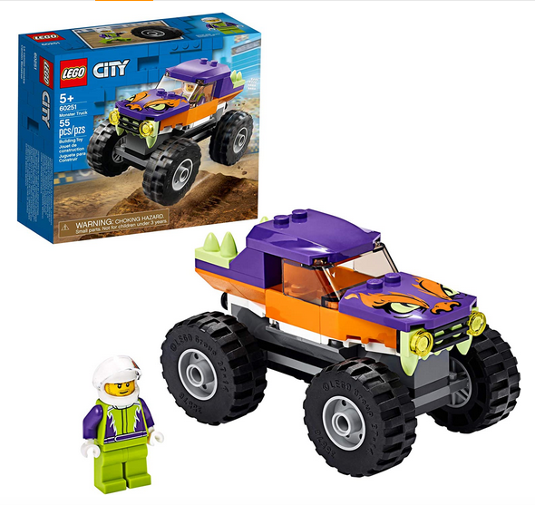 LEGO City Monster Truck Playset