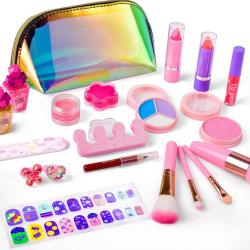 balnore 21 Pcs Washable Makeup Toy Set