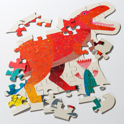 Dig for Dinosaur Puzzles