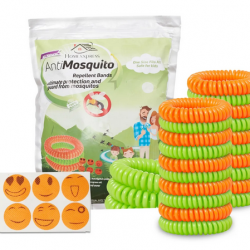 Mosquito Repellent Bracelet & 24 Free Patches