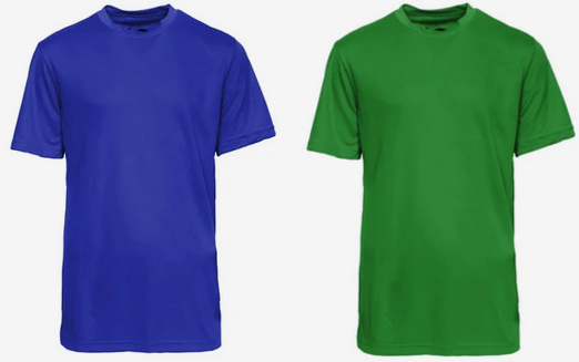 Champion Youth Essential Double Dry Short Sleeve Shirt