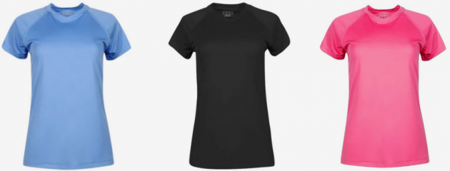 Champion Women's Essential Double Dry Short Sleeve Shirt only $7.49!