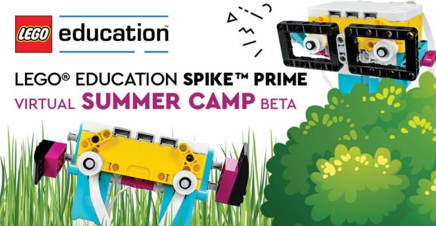 LEGO® Education SPIKE™ Prime Virtual Summer Camp