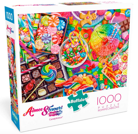 Buffalo Games Candylicious 1000 Piece Jigsaw Puzzle