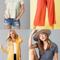 Women's Clothing Items just $11 Each + $2.99 Earrings!