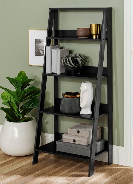 Walker Edison Ladder Bookshelves