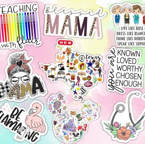 Trendy Stickers