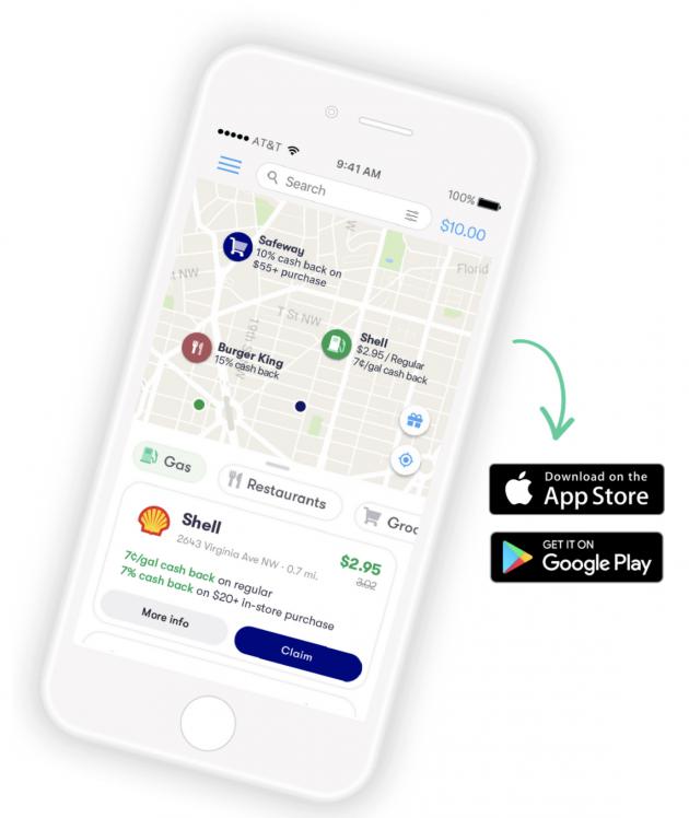 GetUpside app for gas savings