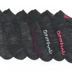 Reebok Low Cut Logo Socks - Pack of 6