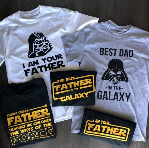 Father's Day Star Wars Tees