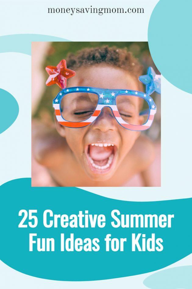 Creative summer fun ideas for children