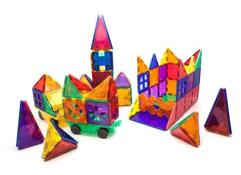 Picasso Tiles 180-Piece Magnetic Building Block Set