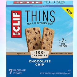 Clif Bar Thins 14-Count (5.46 oz)
