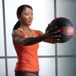 SPRI Xerball Medicine Ball, 6 lbs