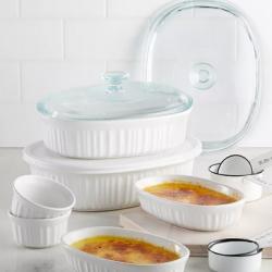 Corningware French White 10-Piece Bakeware Set