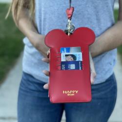 Oversized Phone Mouse Wallet Lanyards