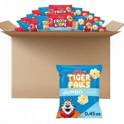 Kellogg's Jumbo Snax Cereal Snacks, Variety Pack