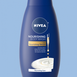 free NIVEA Nourishing Body Wash sample