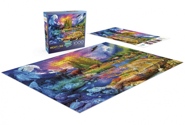 Buffalo Games - The Wild North - 1000 Piece Jigsaw Puzzle