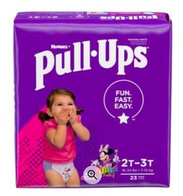 Huggies Pull-Ups Just $3.49