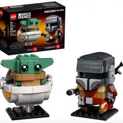 LEGO BrickHeadz Star Wars The Mandalorian & The Child Building Kit