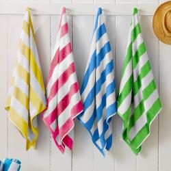 4-Pack Cabana Stripe Beach Towels
