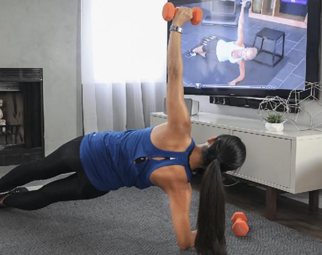 Get Healthy U TV workout