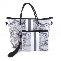 Neoprene Handbag & Wristlet