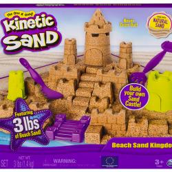 Kinetic Sand Beach Sand Kingdom Playset
