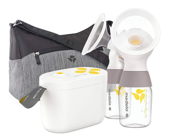 Medela New Pump in Style with MaxFlow, electric breast pump, closed system