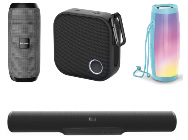 Wireless Bluetooth Speakers and Sound Bars as low as $15! (Reg. $60+!)