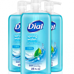 Dial Body Wash, Spring Water, 23 Oz (Pack Of 3)
