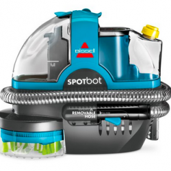 BISSELL SpotBot Robotic Hands Free Portable Carpet Cleaner