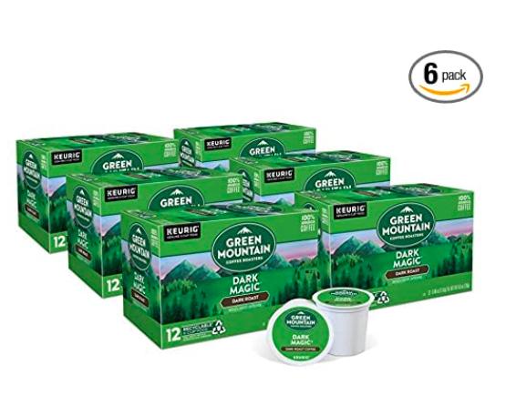 Green Mountain Coffee Roasters Dark Magic, Single-Serve Keurig K-Cup Pods
