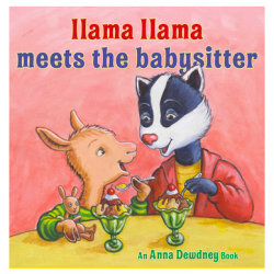 Llama Llama Meets the Babysitter Hardcover